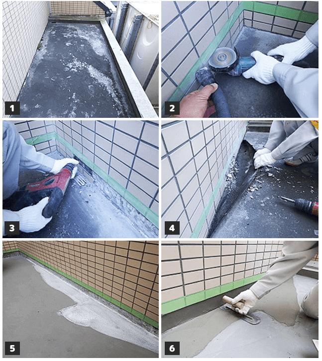 防水工事の修繕